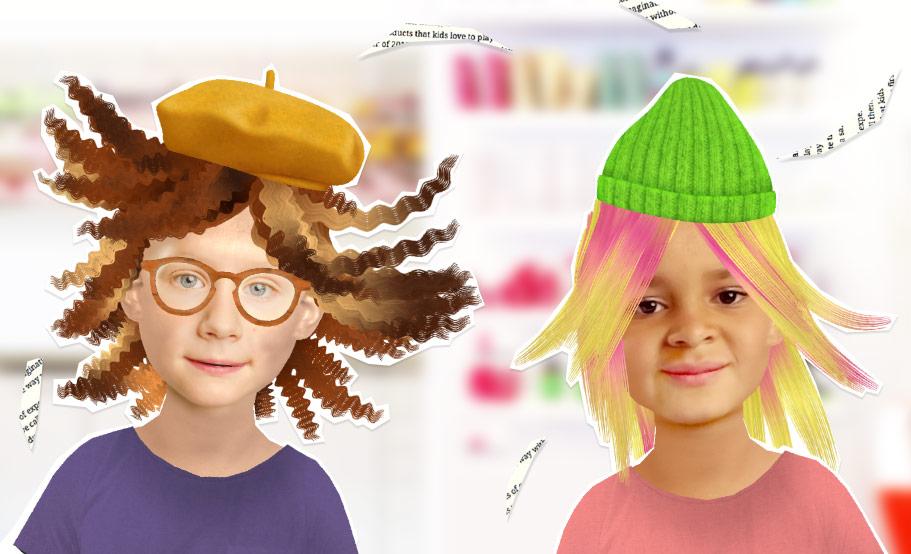 Toca hair salon me la nuova app per cambiare look in un for Toca hair salon me
