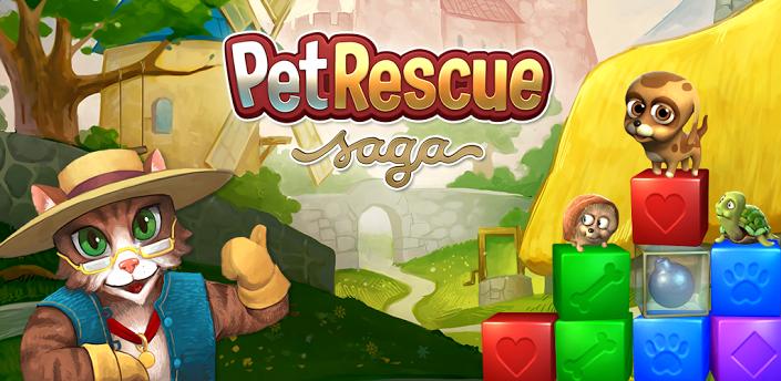 Gioco Pet Rescue Saga immagine