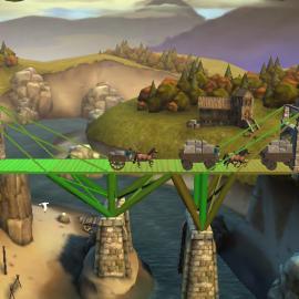 Bridge Constructor Medioevo – Costruisci il ponte perfetto – Download