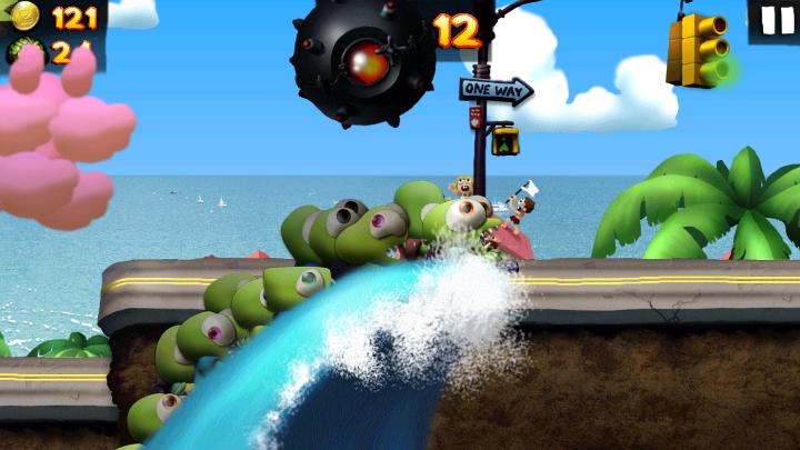 gioco zombie tsunami foto