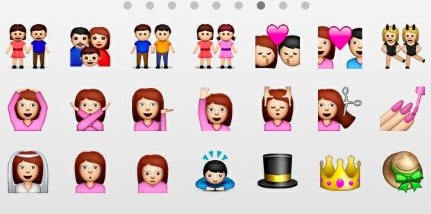 tastiera emoji ios 8